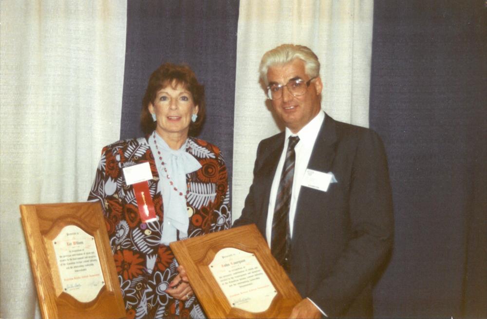 Lee Wilson and John Laurysen